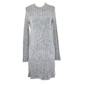 O'Neill L/S Fine Ribbed Knit Crew Neck Dress